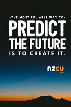 """""""The most reliable way to predict the future is to create it.""""  This quote by Abraham Lincoln, a man knew about forward thinking!  #Motivation #Wisdom"""
