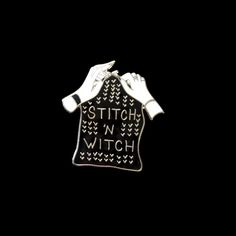 Stitch 'n Witch pin from @bombasine  Work those magic fingers witchazzz!  Get it through the link in their bio!  #witch #knitting #stitchnwitch #pinlord #pin #pins #enamelpin #enamelpins #lapelpin #lapelpins #pingame #illustrator #illustration #design #designer #art #artist #graphicart #graphicartist #graphicdesign #pintrill #pinlife #patchgame #hatpin #hatpins #softenamel #pinsofig #stickerart by pin_lord