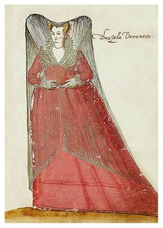 1595: Donzella Veronese, Damsel from Verona
