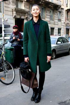 Day11 : 人気モデルの私服をキャッチ@2013-14FW「グッチ」