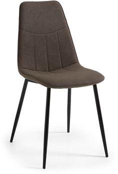 Sonja stoel zwart / grijs - LaForma