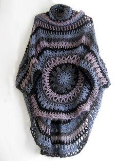 Crochet Shawl  http://omakoppa.blogspot.fr/