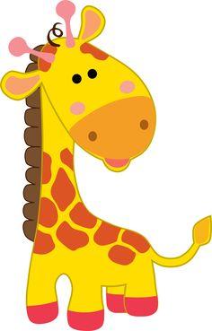 Cartoon Giraffe, Doodle Cartoon, Safari Baby Shower Cake, Safari Party, Safari Png, Cute Drawings, Animal Drawings, Cute Giraffe Drawing, Giraffe Colors