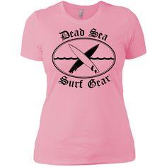 Dead Sea Surf Gear -- Next Level Gals Boyfriend Tee