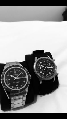 Omega Dynamic Chrono and Seamaster 300 Co-Axial
