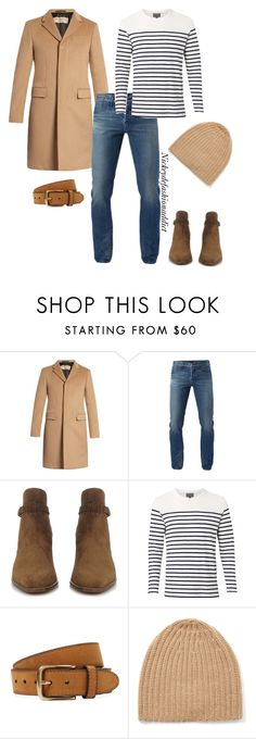"""Untitled #1732"" by stylesbynickey ❤ liked on Polyvore featuring Burberry, 3x1, Yves Saint Laurent, Witchery, Bergè, Joseph, men's fashion and menswear"