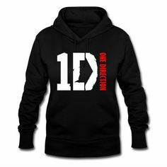 ONE DIRECTION 1D Hoodie Jumper Sweatshirt Jacket Up All Night Directioner Merchandise Gift. $29.99, via Etsy.