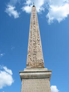 Egyptian Obelisk for mummy