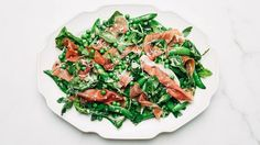 Pea and Prosciutto Salad Recipe | Bon Appetit