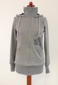 Angel Wings - Hoodie Grey - Hip & Groen