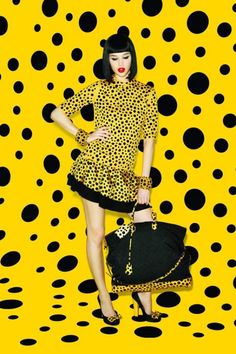 Yayoi Kusama x Louis Vuitton why is this collection so cute
