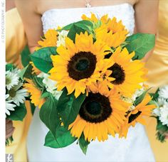 The Sunflowers Bridal Bouquet
