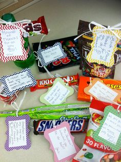 Candy sayings we gave to our boss :) Pastor Appreciation Day, Employee Appreciation Gifts, Volunteer Appreciation, Employee Gifts, Candy Bar Sayings, Candy Quotes, Creative Gifts, Cool Gifts, Diy Gifts