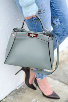 Purseonals: The Fendi Peekaboo Bag Stylish Handbags, New Handbags, Coach Handbags, Fendi Peekaboo Bag, Fendi Peekaboo Medium, Next Purses, Fendi Bags, Girls Bags, Brown Bags