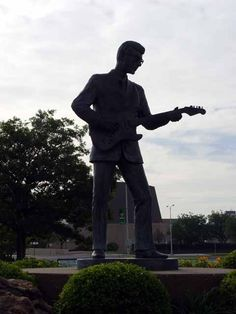 Buddy Holly Museum and Statue, Lubbock, TX