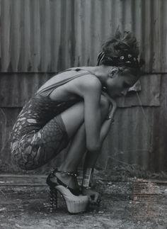 Anna Selezneva by Mark Segal, Vogue Nippon