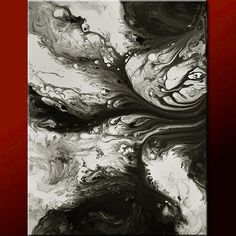 Abstract Art Painting 18x24 Canvas Original Modern Contemporary Paintings by Destiny Womack - dWo - So Many Memories