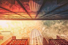 https://flic.kr/p/xtksFa | Chrysler Building | Spaceship.  The Chrysler Building and reflection. New York City.   ----