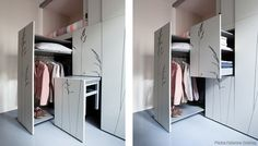 Tiny Apartment in Paris Measures in at Just 86 Square Feet (7 pictures, video)