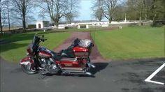 Balade sur mon Harley Davidson au mémorial Canadien deVimy