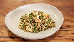 Freekeh & Quinoa Tabbouleh with Roasted Cauliflower - Good Chef Bad ...