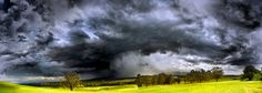 A dark storm over the Hunter Valley in New South Wales, photographed by Milon Lekovic was a finalist in the Amateur Nature category of the 2012 Epson International Pano Awards.