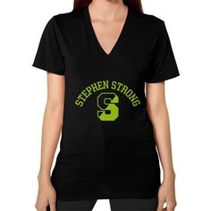 Stephen Strong V-Neck (on woman)