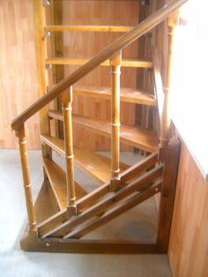 винтовая лестница - вид снизу