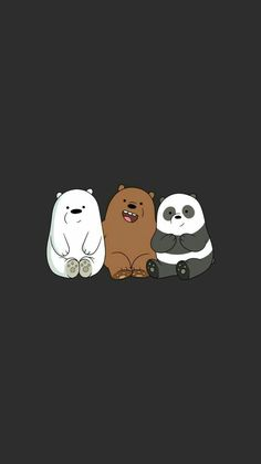 We Bear Bears wallpapers iPhone 23 high-definition ♪-We Bare Bears . Cute Panda Wallpaper, Disney Phone Wallpaper, Cartoon Wallpaper Iphone, Kawaii Wallpaper, Cute Wallpaper Backgrounds, Galaxy Wallpaper, Wallpaper Quotes, Walpaper Iphone, Screen Wallpaper
