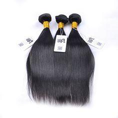 "Isabelle Hair 1pc Grade AAAAAAA 7A 1 Bundle 100 Gram Unprocessed Brazilian Virgin Hair Straight 8"" to 24"" Remy Human Hair Extensions 24"""