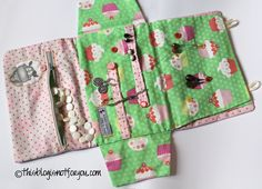 how to make a jewelry case. The fabric is too modern and cutesy for SCA, but the idea is a good one, and the photo tutorial is very helpful from what I can tell.