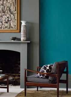 New Paint Colours Spring - Nightingale and Hummingbird http://www.firedearth.com/paint/colour/new-colours-spring-15
