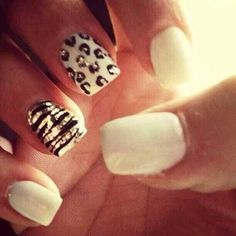 Amp up your manicure with stylish these cool nail art ideas and hot new polish colors. Related PostsNail Art Designs Nail Color Trends Nail Art Designs For Summer nail art for Easy Nail Art Designs winter nail art ideas New wedding rings 2017 Related Get Nails, Fancy Nails, Love Nails, Elegant Nail Designs, Cute Nail Art Designs, Cheetah Nail Designs, Elegant Nails, Gorgeous Nails, Pretty Nails