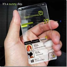unbreakable glass phone