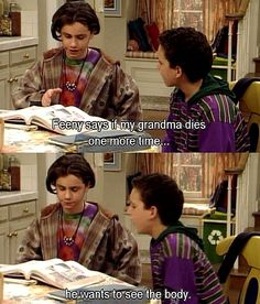Boy meets world!