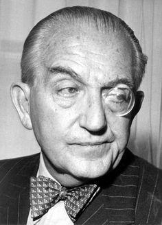 Fritz Lang (Austrian film noir expressionist director: Metropolis [1927], M [1931], Cloak and Dagger [1946], The Big Heat [1953], Beyond a Reasonable Doubt [1956]).
