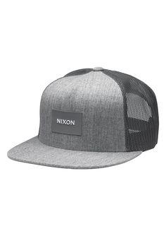 Nixon Team Trucker (Gris) - Gorros y sombreros - Accesorios - Trakan Mens  Trucker 181eb7aca44