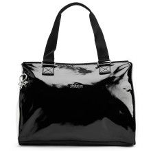 """This chic and functional tote is crafted with a double entry zip compartments on the topside for easy organization on the go! 15"""" x 11"""" x 7"""""""