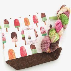 Watermelon Popsicle Sock Kit