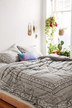 Magical Thinking Printed Woodblock Comforter