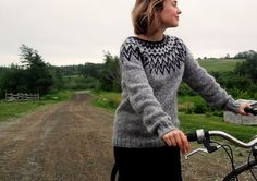 Icelandic Sweater / Lopapeysa Women Hand Knit in door Waysofwoodfolk