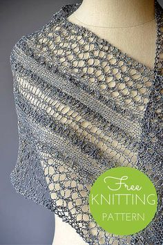 Starry Road Scarf Free Knitting Pattern