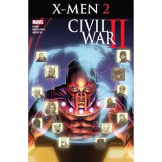 Civil War II: X-Men (2016) #2 (of 4) Written by Cullen Bunn Art by Andrea Broccardo Cover by David Yardin An Inhuman with the power to profile the future has emerged upsetting the delicate balance of power between the Inhuman and Mutant nations. And the mutant master of magnetism MAGNETO refuses to allow his people to fall by the wayside. Now Magneto rallies those who would follow him to even the scaleseven if it means risking war with Inhumans and Mutants alike to do it!