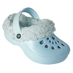 Toddler FleeceDawgs Clogs - Baby Blue with Baby Blue. Starting at $1