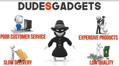 """We are Dude GadgetS - www.DudeGadgetS.com.  For the past months, we have been dealing with unhappy customers who purchased from competitor stores.  Kindly AVOID these COPYCAT websites as we are NOT affiliated with them.  1.DudeS Gadget - www.DudeSgadget.com 2.DudeS GadgetS - www.DudeSgadgetS.com  THE DIFFERENCE IS IN THE LETTER """"S"""".  We are 100% legit and we've already made thousands of customers satisfied with our topnotch products and excellent customer service.  Visit our store now at…"""