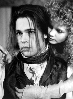 "Brad Pitt as Louis de Pointe du Lac. 'Interview with the Vampire: The Vampire Chronicles', I love this book and movie, as well as ""The Vampire Lestat""!long before ""Twilight"" darkened the name of vampire. Kirsten Dunst, Brad Pitt Interview, I Movie, Movie Stars, Lestat And Louis, Vampire Diaries, The Vampire Chronicles, Interview With The Vampire, Vampire Love"