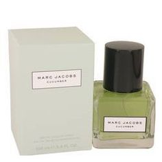 Marc Jacobs Cucumber Eau De Toilette Spray By Marc Jacobs - Lucky Fragrance Marc Jacobs, Wild Strawberries, Home Fragrances, After Shave, Cucumber, Health And Beauty, Perfume Bottles, Gifts For Her, Unisex