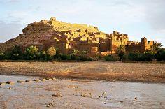 Aït Benhaddou at sunrise, Morocco