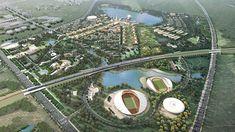 Karamay University Town Master Plan