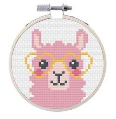 Kawaii Cross Stitch, Simple Cross Stitch, Mini Cross Stitch, Cross Stitch Animals, Modern Cross Stitch, Cross Stitch Kits, Easy Cross Stitch Patterns, Cross Stitch Designs, Cross Stitch Embroidery